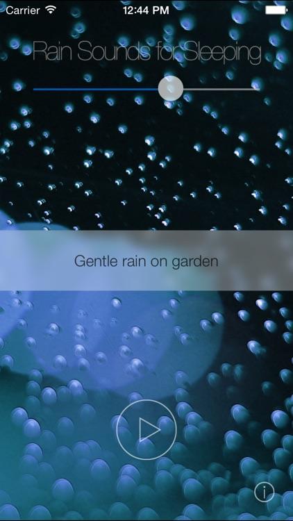 Rain Sounds for Sleeping
