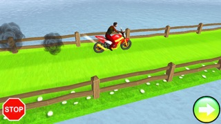Bike Stunt Man Crazy Heights screenshot three