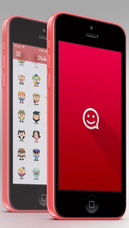 ChatMate - Stickers for Whatsapp, iMessage, Kik Messenger, Phone Line