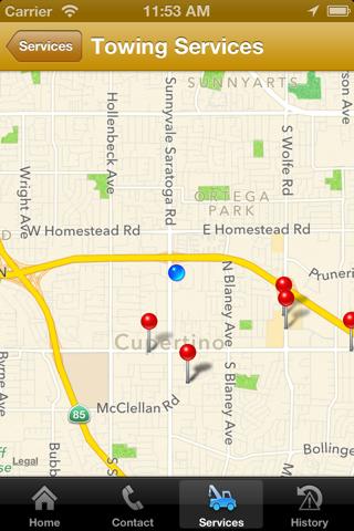 Screenshot of Lake Central Insurance