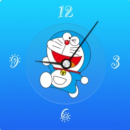 Clock for Doraemon