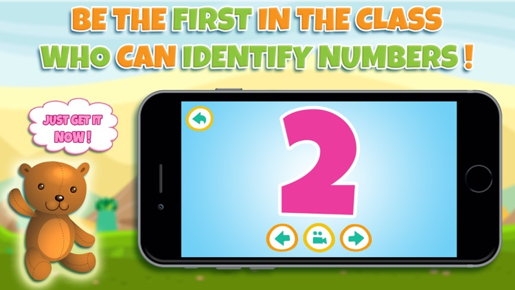 Learn numbers - Educational game for toddler kids & preschool children screenshot-4