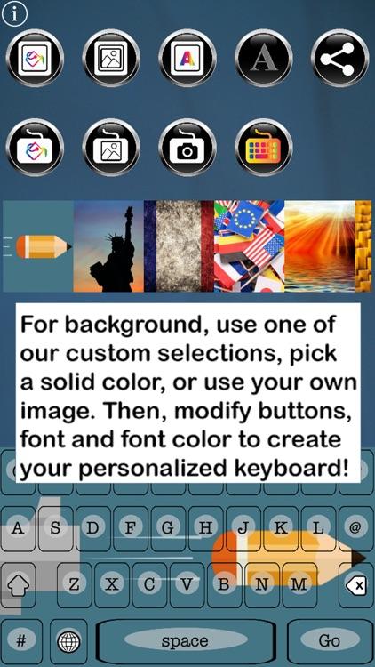 Je Suis Free Custom Keyboard screenshot-3