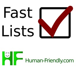 Fast Lists - Checklists for Everything