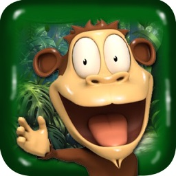 Hungry  Monkey & Bananas:  Monkey Feeding Challenge Game Free For Kids