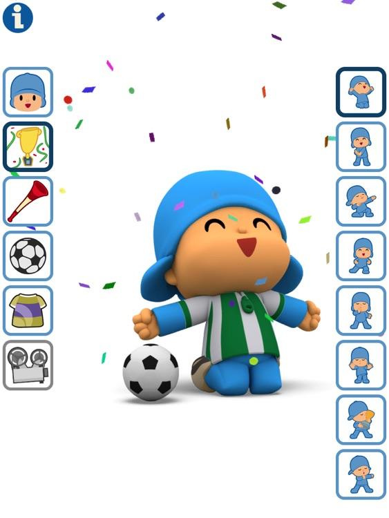 Talking Pocoyo Football HD screenshot-4