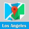 洛杉矶旅游指南地铁美国甲虫离线地图 LA Los Angeles travel guide and offline city map, BeetleTrip metro trip advisor