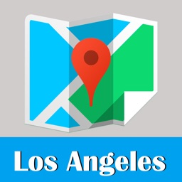 Los Angeles travel guide and offline city map, BeetleTrip LA metro subway trip route planner advisor