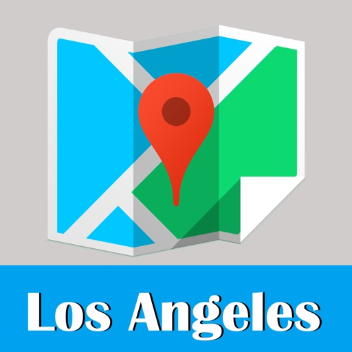 Los Angeles travel guide and offline city map, BeetleTrip LA metro subway trip route planner advisor
