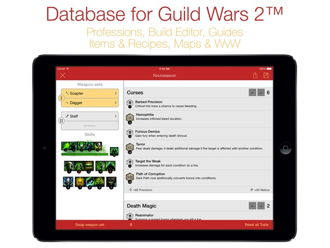 ‎Database for Guild Wars 2™