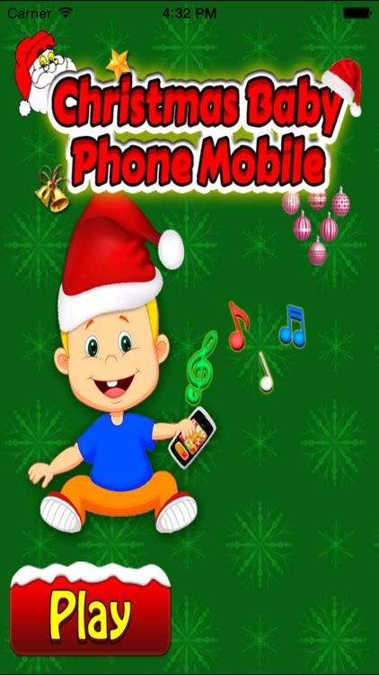 Christmas Baby Phone Mobile