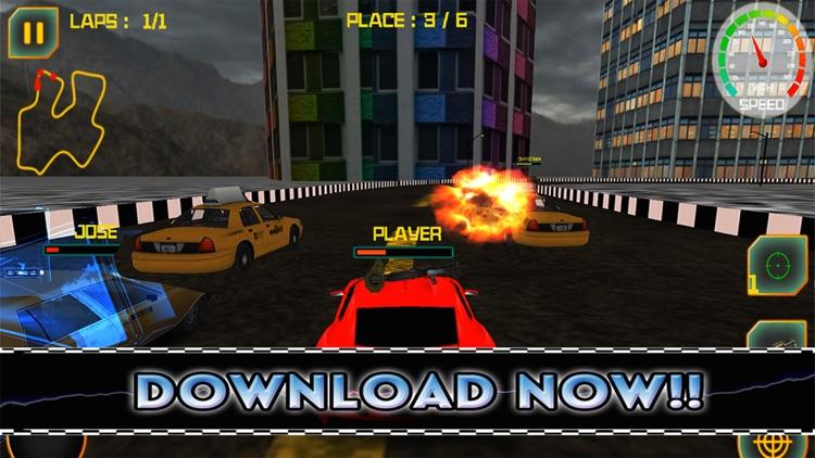Awesome Taxi Drift Cars Target Shooting Street Racer screenshot-4