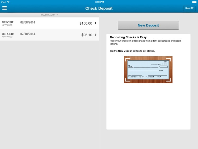 INTRUST Banking for iPad screenshot-3