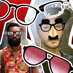 Lab Glasses Lens Fun : Pic Effect Stich Photo Decorate Free Stickers