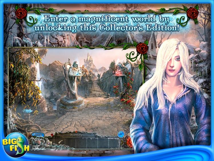 Living Legends: Frozen Beauty HD - A Hidden Object Fairy Tale (Full) screenshot-3