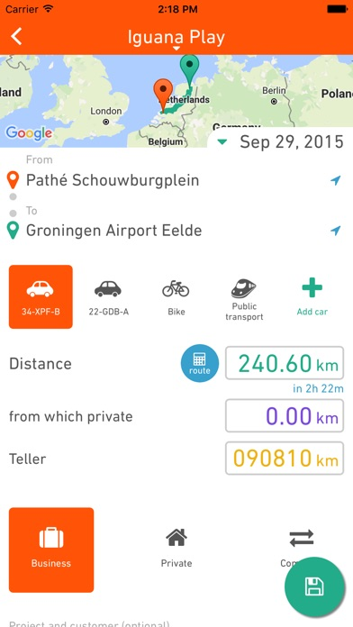 Gekko Trips - by Gekkolab - Business Category - AppGrooves: Discover