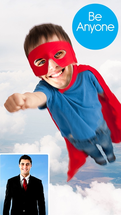 Face Swap For Instagram - Funny Photo Editing With Superhero Mask & Costume