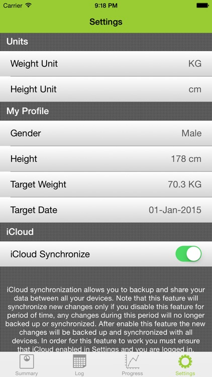 My Weight Tracker Pro screenshot-4