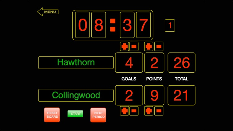ScoreKeeper Scoreboard - iPhone screenshot-0