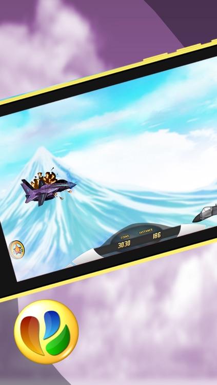 Aerial Jet Fighter Dogfight Battle – Free War Game screenshot-3