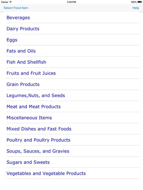 Nutritive-Values