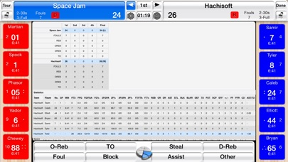 Basketball Stat Tracker screenshot1