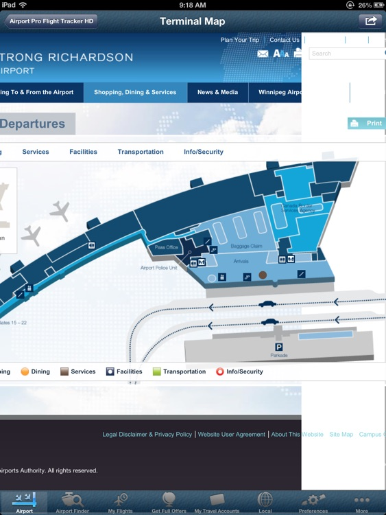 Winnipeg Airport HD + Flight Tracker Premium air YWG Canada screenshot-4