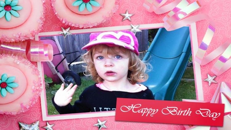 Happy Birthday Frames Deluxe screenshot-4
