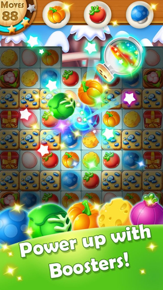 Juicy Fruit - 3 match puzzle yummy blast mania gameのおすすめ画像5