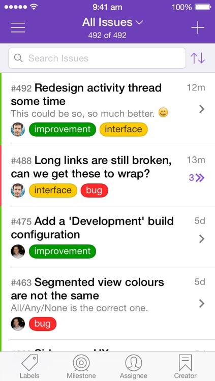 Hubbub - Delightful GitHub Issues