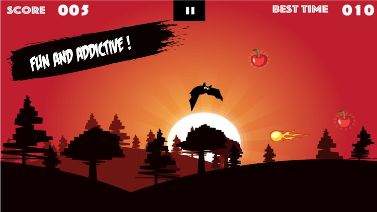 Bat Fall - Bat Vampire Game for Boys and Girls