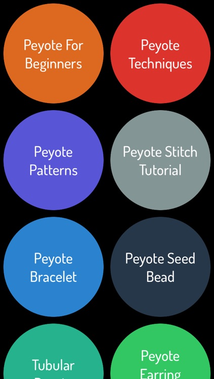 Peyote Stitch Jewelry Making Guide