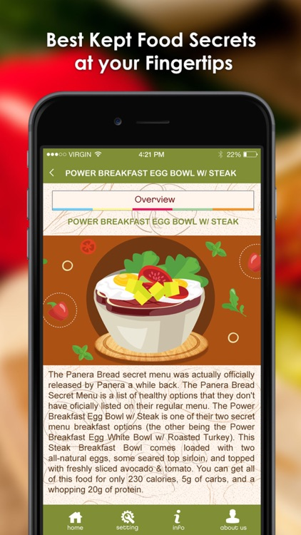 Secret Menu for Panera Bread screenshot-1