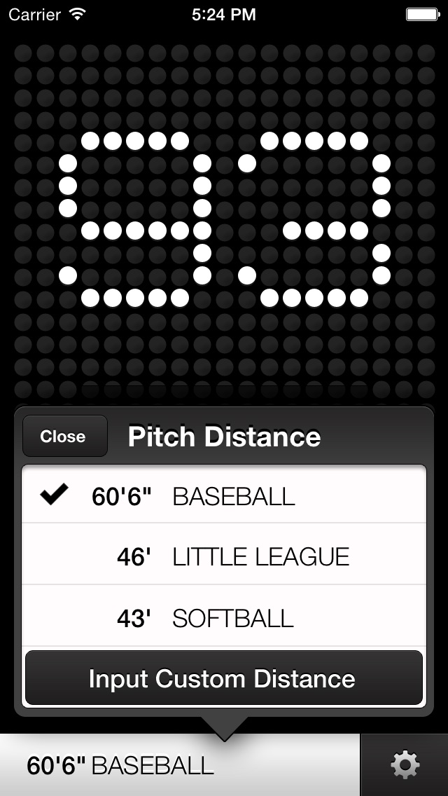 Screenshot for Radar Gun in Qatar App Store