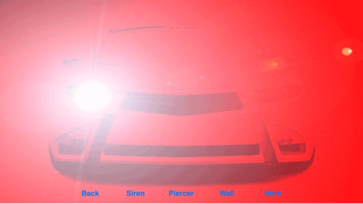 Police Lights and Siren ~ Emergency Strobe Lights