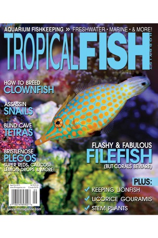 Tropical Fish Hobbyist magazine - náhled