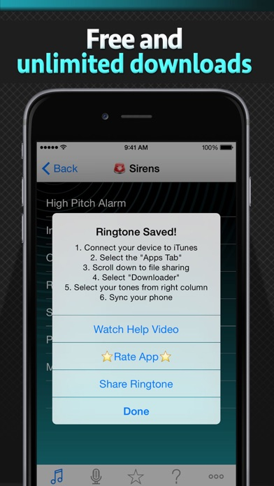 Free Ringtone Downloader - Download the best ringtones - Revenue