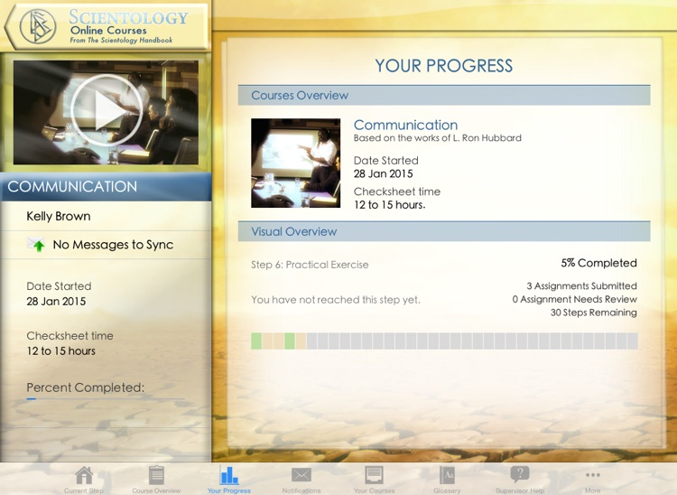 Scientology Online Courses HD screenshot-3