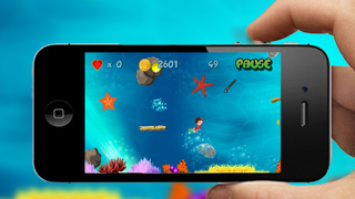 Underwater Treasure Diving Maze screenshot three