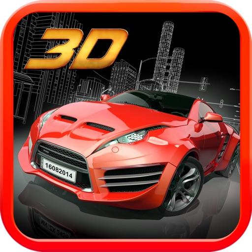 Car 3D Simulator Driving icon