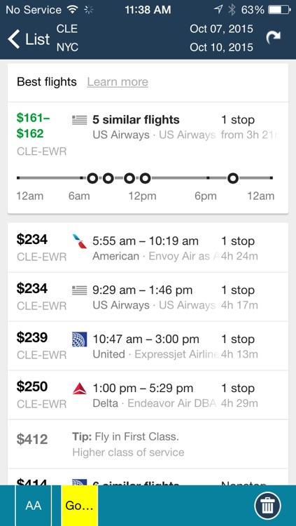 Cleveland Airport (CLE) Flight Tracker Hopkins screenshot-4