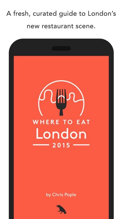 Where to Eat London 2015 screenshot-4