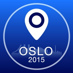 Oslo Offline Map + City Guide Navigator, Attractions and Transports