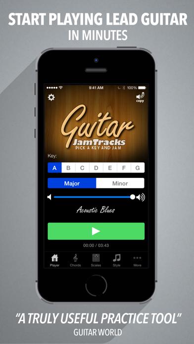 Guitar Jam Tracks - Scale Trainer & Practice Buddy-0