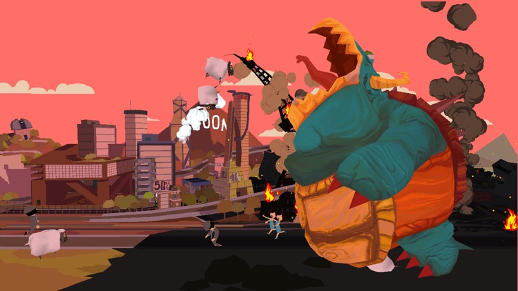 Monster vs Sheep screenshot-3