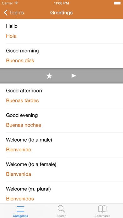 Spanish Phrasebook: Conversational Spanishのおすすめ画像3
