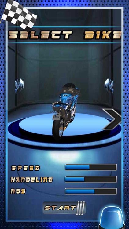 Nitro Crazy Lane Moto Bike Rider - Highway Motorcycle Traffic Stunt Street Drag Endless Race Game screenshot-3