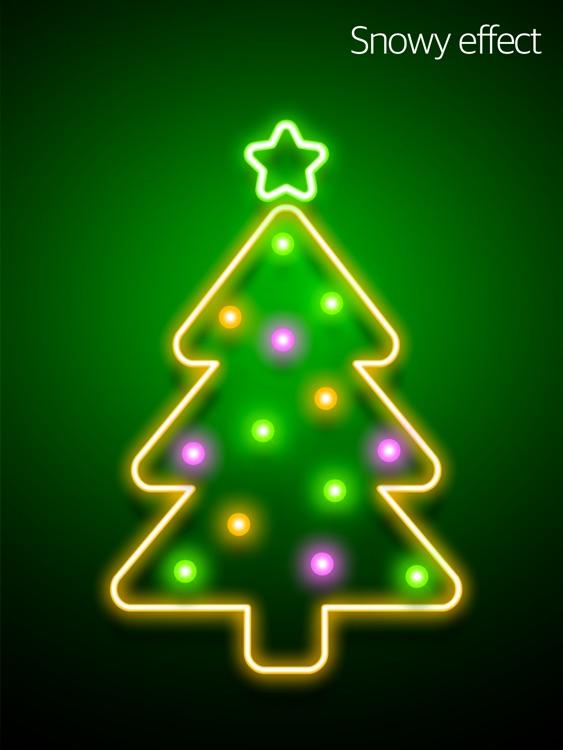 iChristmas Tree HD : Music mood lighting, Christmas Carol & Animation Screen screenshot-3