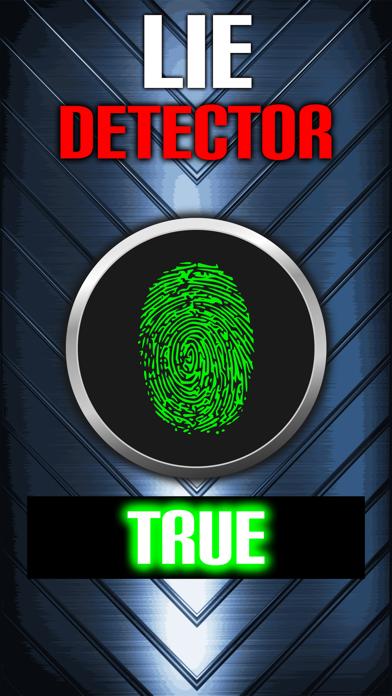 Lie Detector Fingerprint Truth or Lying Scanner Touch Test HD + screenshot three