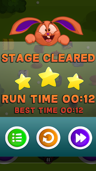 Run Rabbit Run - maze puzzle game screenshot four